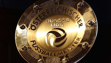 Image shows the tipico Bundesliga-Trophy.