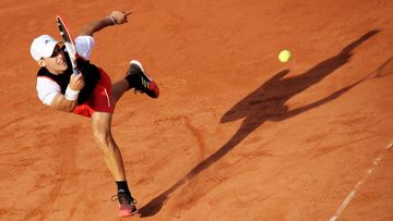 Image shows Dominic Thiem (AUT).